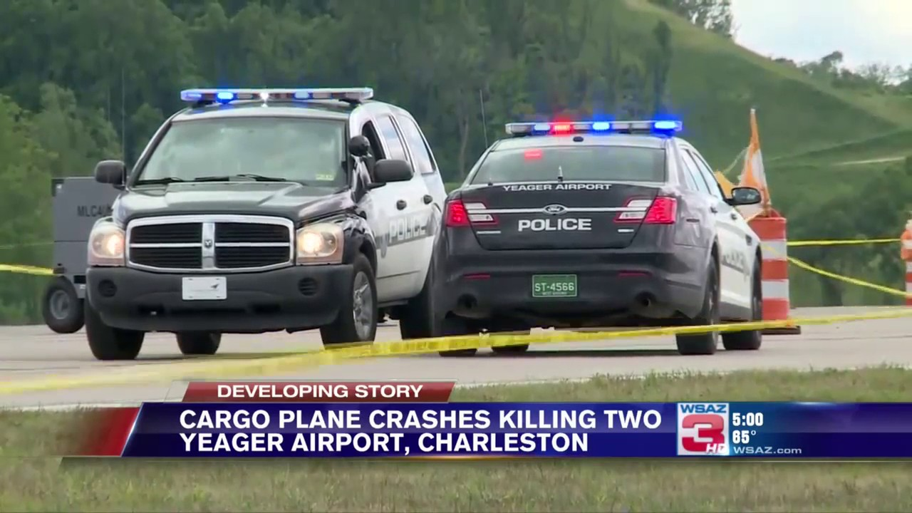 50edfc819e Two dead in Yeager plane crash are from West Virginia; Airport closed
