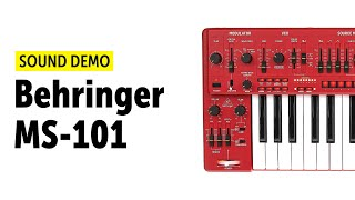 Behringer MS-101 Sound Demo (no talking)