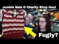 Jumble Sale & Charity shop Haul - UK reseller live hangout