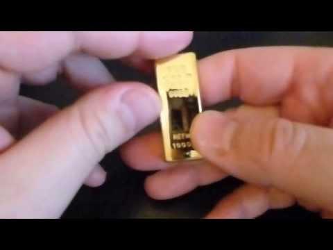 Gold Bullion USB 4GB Flash Drive
