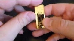 Gold Bullion USB 4GB Flash Drive