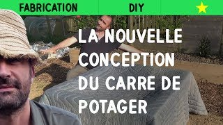 Repeat youtube video nouvelle conception du carré de potager
