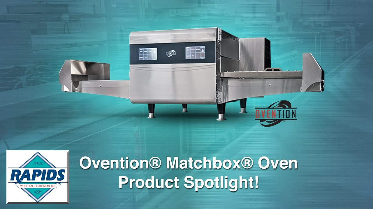 Ovention Matchbox Oven Product Spotlight (Review) from ...