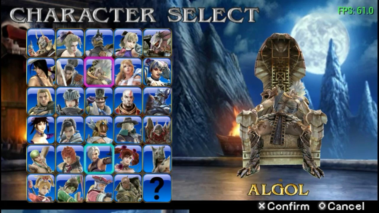 Soul calibur 5 nude addition ppssppp Gameplay with download link