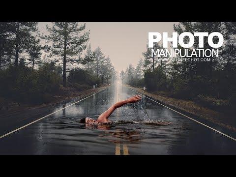 EP236 Photo manipulation เรียนตัดต่อภาพ  Photoshop อย่างมืออาชีพ®
