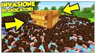 10.000 GIOCATORI CONTRO LA NOSTRA BASE! - Minecraft ITA