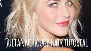 Julianne Hough Short Hair Tutorial Thumbnail