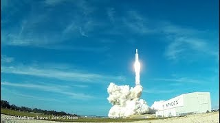 Falcon Heavy Demo Remote Camera Launch And Landing Highlights