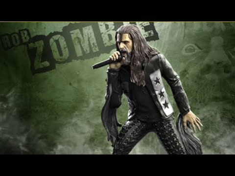 Rob Zombie Rock Iconz statue to be released through Knuckle Bonz.