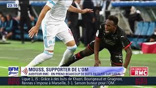 Marseille – Rennes (1-3) : la réaction très forte d'un auditeur supporter de l'OM