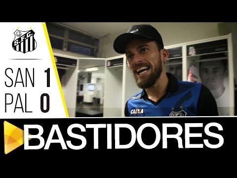 Santos 1 x 0 Palmeiras | BASTIDORES | Brasileirão (14/06/17)