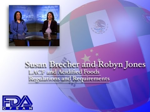 LACF and Acidified Foods Regulations and Requirements