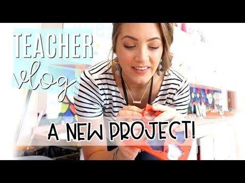 MELTING CRAYONS! | Teacher Vlog