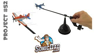 Make a Cool Self-Balancing Airplane Mobile - SonicDad Project #52