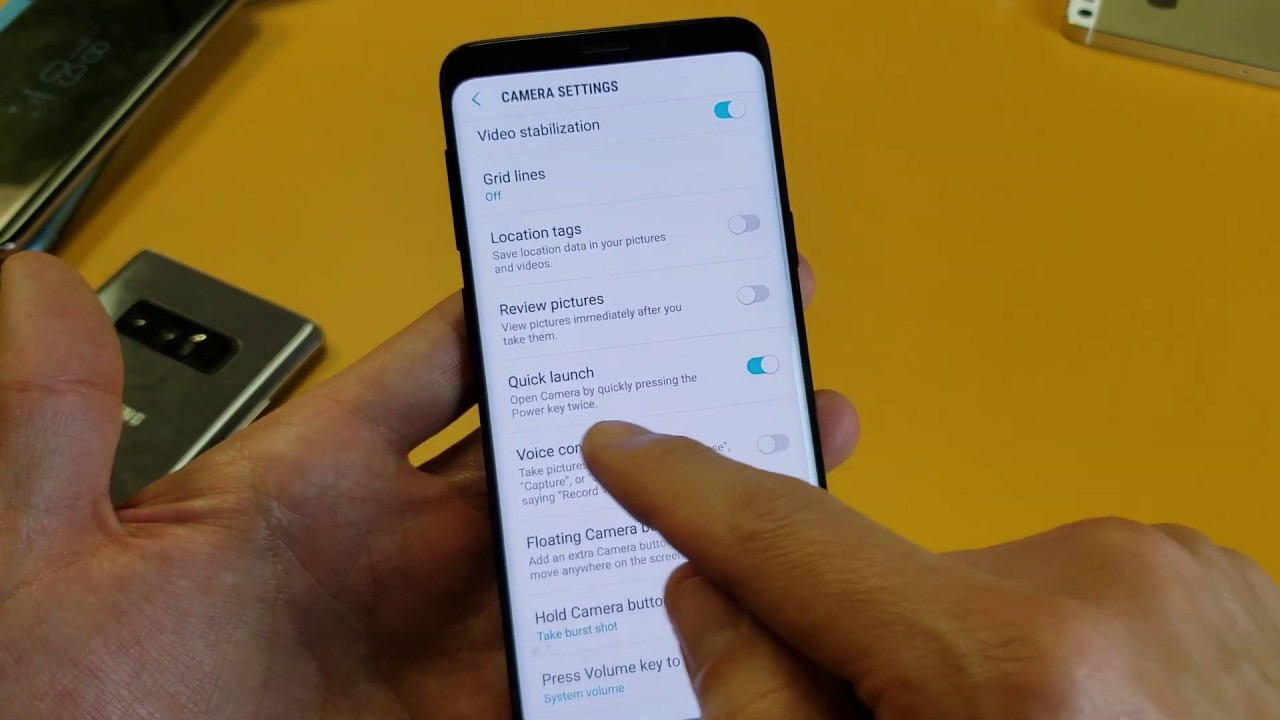 Galaxy S9 / S9+: How to Enable/Disable Quick Launch to Open Camera from  Power Button