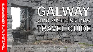 Tour Galway city (things to do) Ireland travel video guide; visit Ireland tourism attractions