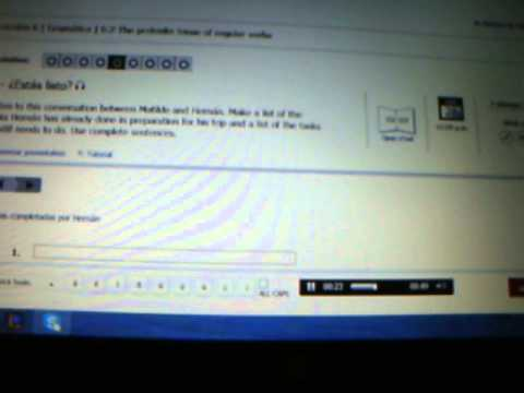 Online Spanish Homework Vista Higher Learning