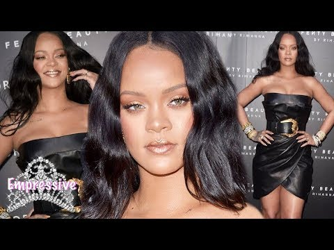 Rihanna Showed Off Her Dramatic Weight Loss In A Sexy Sheer Dress After Her Hit NYFW Show