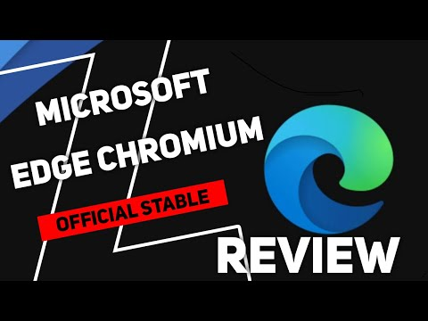 Microsoft Edge Chromium Stable | Best Web Browser 🤔