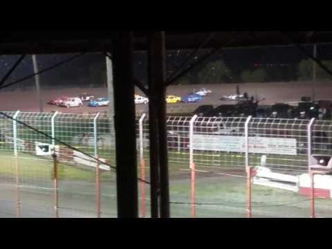 Dustin Virkus @ Madison Speedway- Feature 7.22.17, Part 1