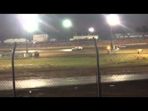 2nd Factory Stock Heat Race at Ark-La-Tex Speedway 5/2/15