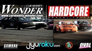 CAR MODIFY WONDER X HARDCORE Drift Event | Nikko Circuit - JyuRoku
