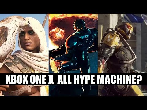 Was it a Mistake Overhyping Xbox One X? | Sony Respond to Parity Accusations | Nintendo's Awesome E3