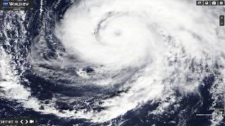 Hurricane Ophelia - proof of electromagnetic manipulation
