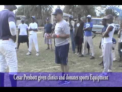 Cesar Presbott Foundation Tour Dominican Republic (Baseball Clinic)