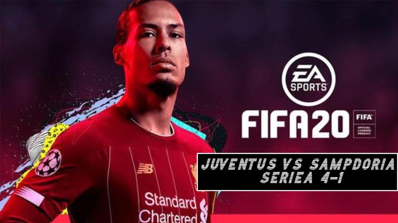 Fifa 20 CLASSIC MATCH Juventus VS Sampdoria 4-1 l Serie A - YouTube