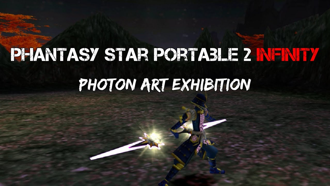 Portable Exhibition Games : Phantasy star portable infinity ♢ photon art exhibition youtube