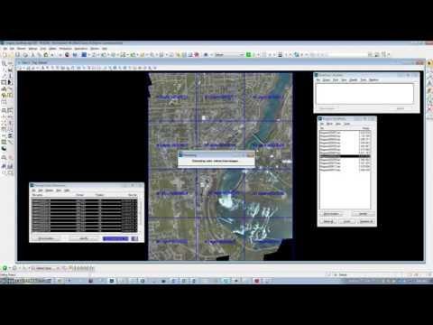 Colorizing LIDAR Points in TerraScan