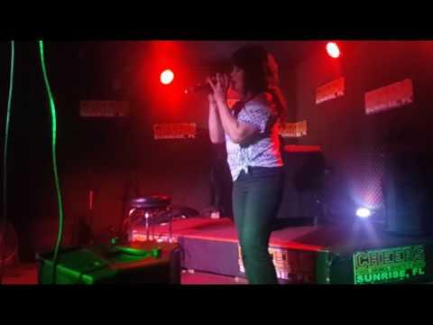 Melinda sing karaoke night