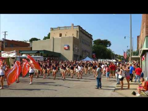 Marching Illini Greenville Illinois Bicentennial Parade
