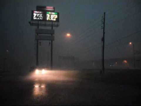 Tornado sirens in Texarkana, TX, May 2nd 2009