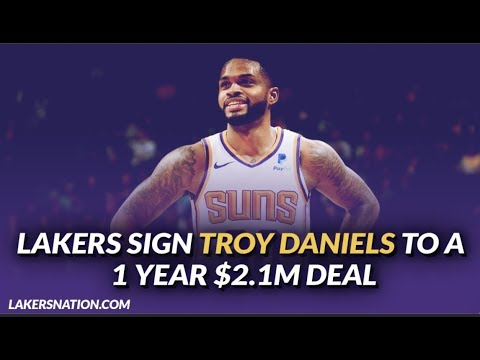 Lakers signing Troy Daniels