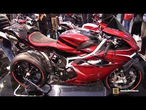 2018 MV Agusta F4 RC LH44 Lewis Hamilton - Walkaround - 2017 EICMA Milan Motorcycle Exhibition
