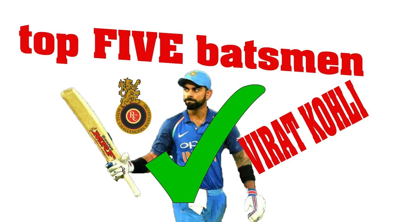033a8ccf0d7 top 5 batsmen in the world cricket 2017 to 2018