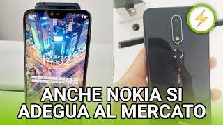 ⚡️NEWS - Neanche Nokia si salva: NOKIA X6 ha il NOTCH