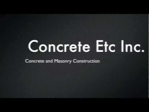 Concrete Foundation Contractors San Fernando Valley! All Concrete Construction Services!
