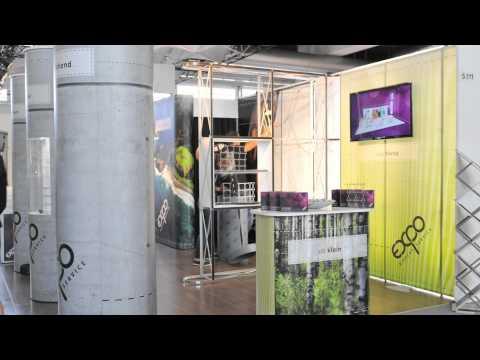 Expo Display Service an der Suisse EMEX 2011 -- Zeitraffer