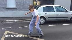 Girl Skate Progression 1 Year
