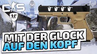 Mit der Glock auf den Kopf - ♠ Let's Play CS:GO ♠ - Dhalucard