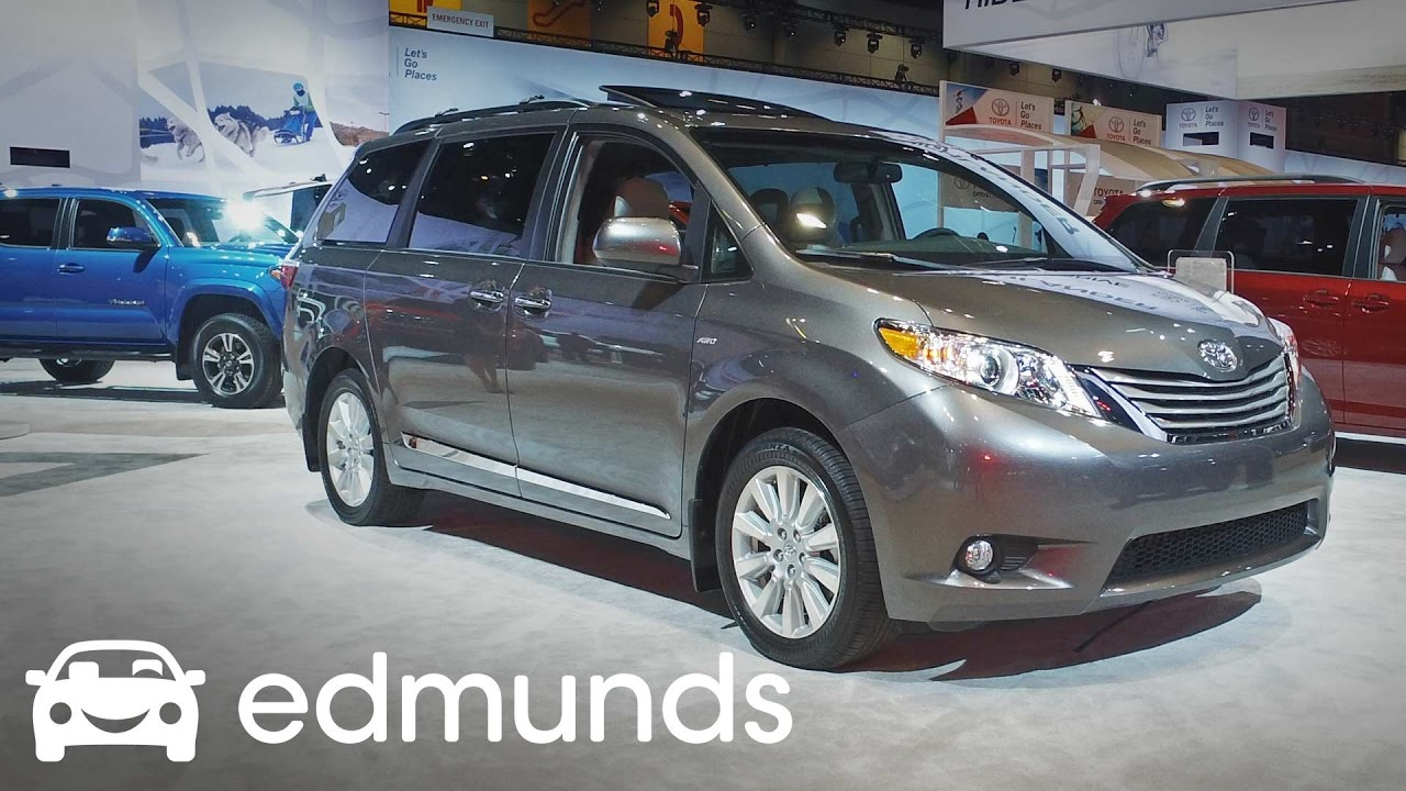 2017 Toyota Sienna Review Features Rundown Edmunds
