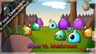 Free Diamonds for Slime vs. Mushroom - Android via Freedom