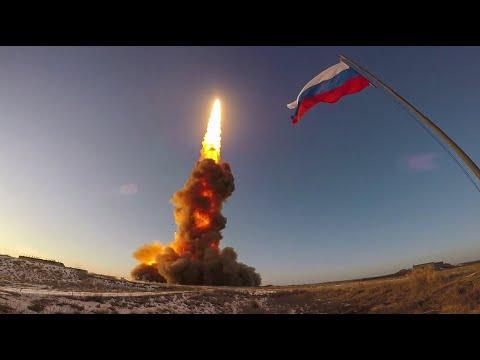 Очередной испытательный пуск противоракеты российской системы ПРО на полигоне Сары-Шаган