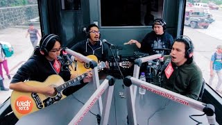 "Sponge Cola performs ""Pag-ibig"" LIVE on Wish 107.5 Bus"