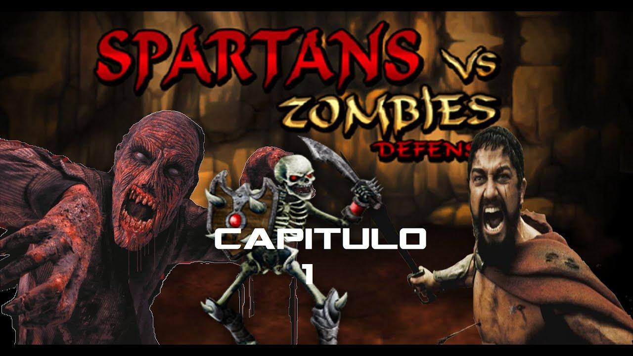Spartans Vs Zombies Cap1 Leonidas A Lo Pro Full Hd