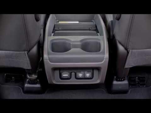 2018 honda odyssey versatile center console youtube. Black Bedroom Furniture Sets. Home Design Ideas