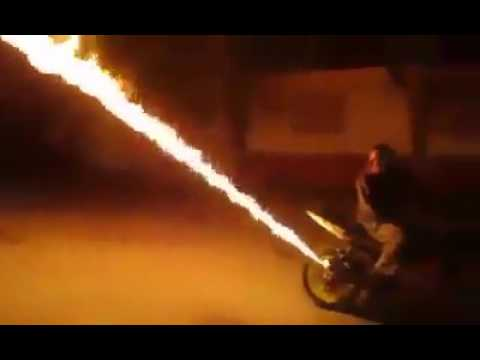 fire from bike silencer || Best videos collection
